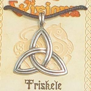 Jewelry - Triskele Pewter Amulet NWT